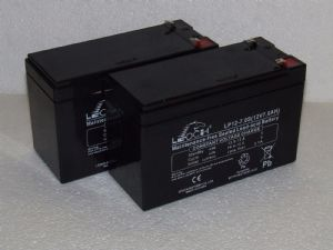 2x Leoch LP12-7.0S - 12v 7.0s Stairlift Replacement Batteries